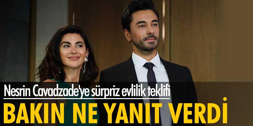 Nesrin Cavadzade'ye sürpriz evlilik teklifi! Bakın ne yanıt verdi