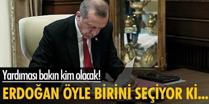 Yardımcısı bakın kim olacak! Erdoğan öyle birini seçiyor ki...