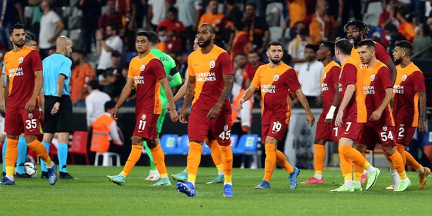 Galatasaray'da altı isim, Avrupa'da yok