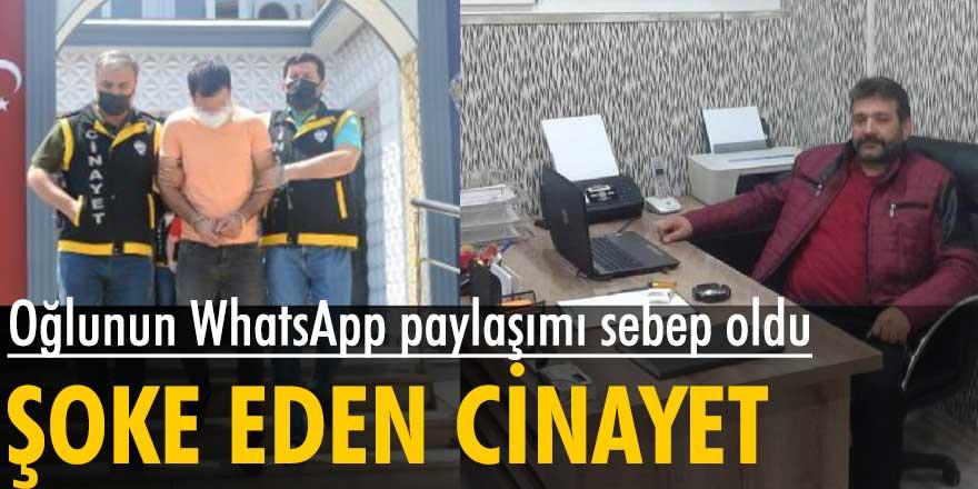 Bursa'da Yasin Dere, oğlunun WhatsApp'tan paylaştığı fotoğraf nedeniyle öldürüldü