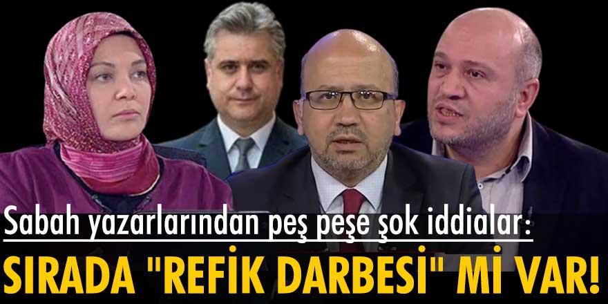 """Hilal Kaplan, Salih Tuna, Okan Müderrisoğlu ve Hasan Basri Yalçın'ın """"darbe """" iddialarını gündeme taşıması merak uyandırdı"""