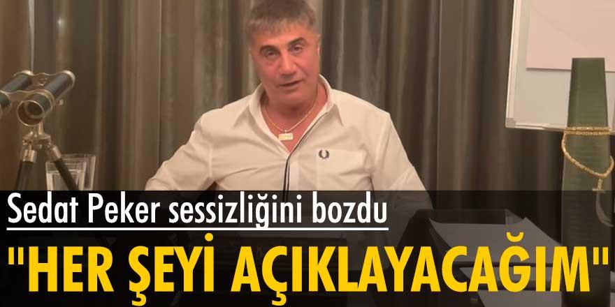 Organize suç örgütü lideri Sedat Peker sessizliğini bozdu
