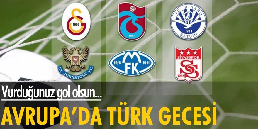 Avrupa'da Türk gecesi! Vurduğunuz gol olsun