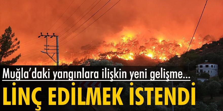 Muğla'daki yangınlara ilişkin yeni gelişme...