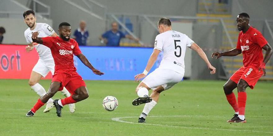 Sivasspor rakibi Dinamo Batumi'yi uzatmalarda yendi