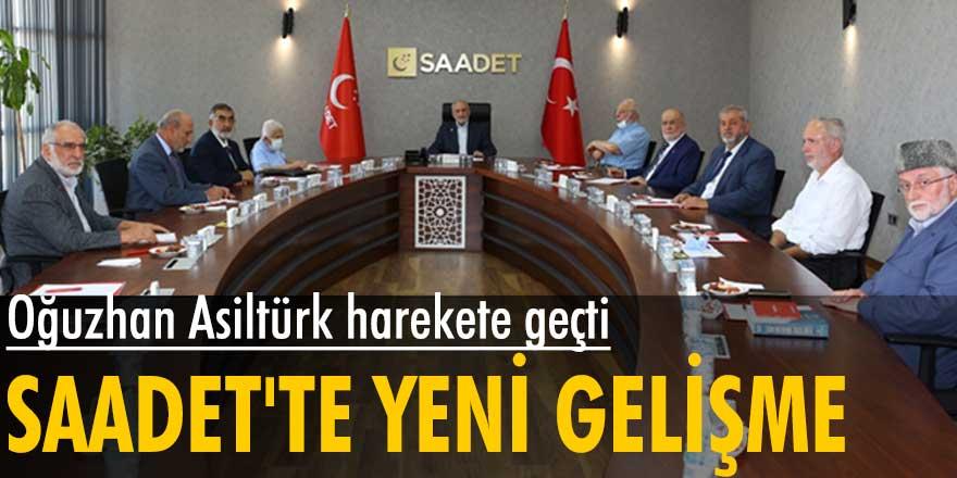 Saadet Partisi'nde yeni gelişme! Oğuzhan Asiltürk başkanlığında toplantı