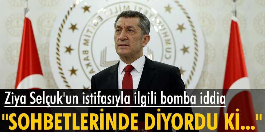 Deniz Zeyrek'ten Ziya Selçuk'un istifasıyla ilgili bomba iddia