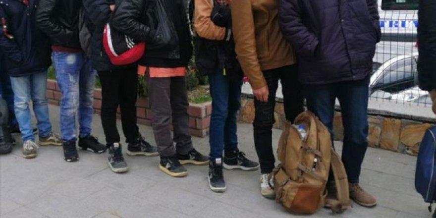 Edirne sınırında 565 düzensiz göçmen yakalandı