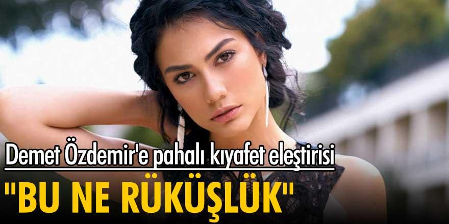 """Demet Özdemir'e pahalı kıyafet eleştirisi! """"Bu ne rüküşlük"""""""