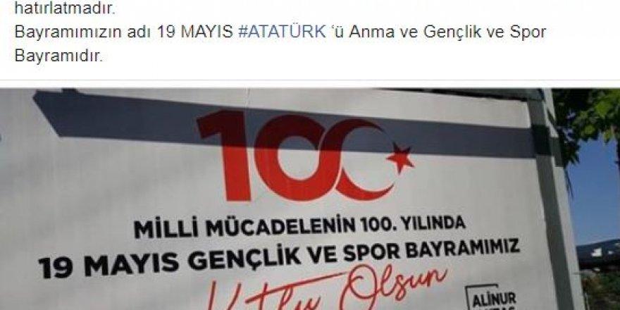 Skandal 19 Mayıs afişine İYİ Parti'den tepki