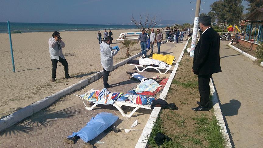 Kaçakları taşıyan bot battı: 11 ölü