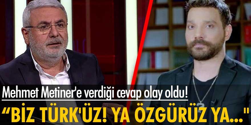 Oğuzhan Uğur'un Mehmet Metiner'in Suriye sorusuna verdiği yanıt...