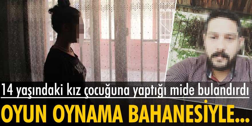 Diyarbakır'da5 çocuk babası müzisyenin 14 yaşındaki kız çocuğuna yaptığı mide bulandırdı