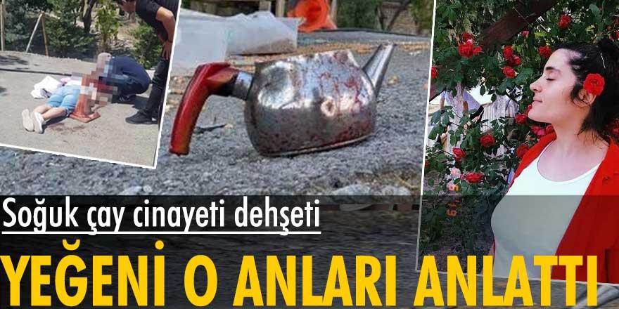 Konya'daki soğuk çay cinayetinde Zerda Göçer o anları anlattı