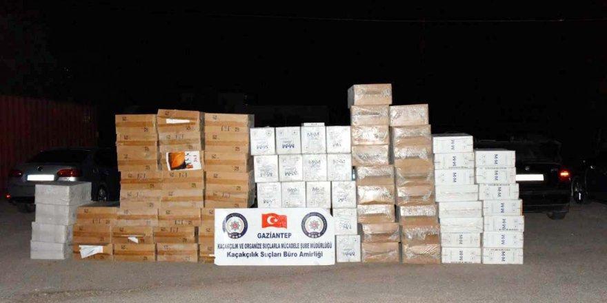 65 bin 300 paket kaçak sigara ele geçirildi