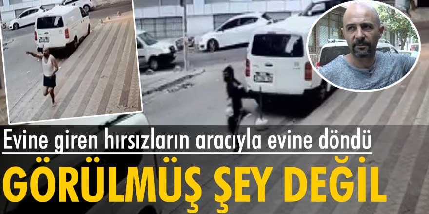 Görülmüş şey değil! İstanbul'da Serkan İlhan, evine giren hırsızların aracıyla evine döndü