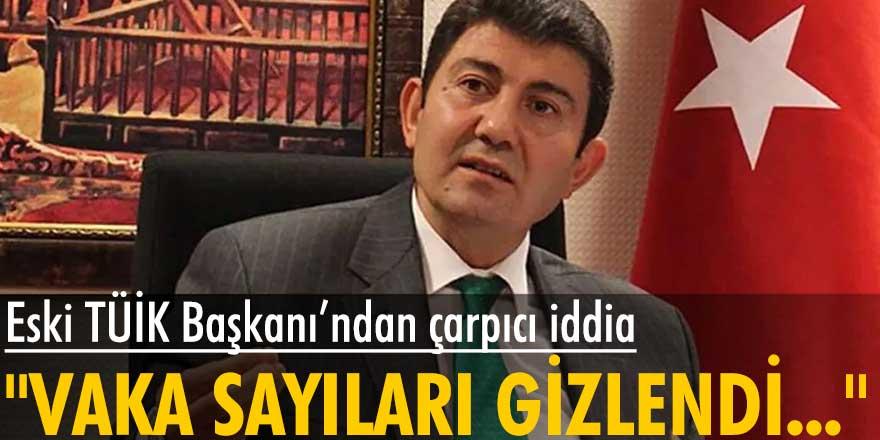 Eski TÜİK Başkanı Birol Aydemir'den çom konuşulacak iddia: Vaka sayıları gizlendi