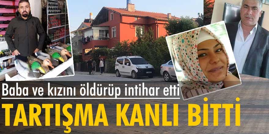Konya'da bir kişi, tartıştığı kadın ile babasını öldürüp intihar etti