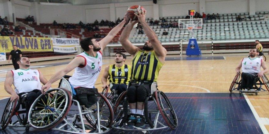 Tekerlekli sandalye basketbolunda şampiyon Fenerbahçe!