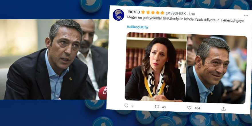 Taraftarlar Ali Koç'u istifaya çağırıyor