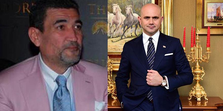 Adları Paramount Hotel ile anılan Botır Rakhimov ile Cihan Ekşioğlu yemekte bir araya geldi