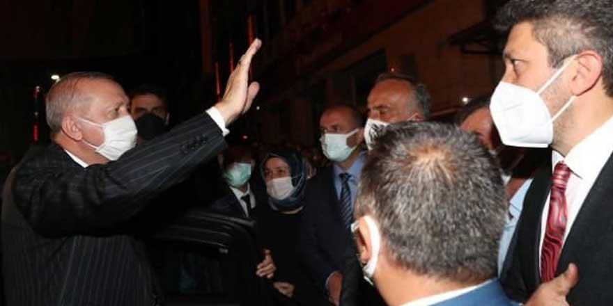 Erdoğan'ın konvoyuna Rize'de protesto şoku