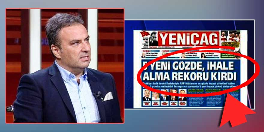 Yeniçağ Gazetesi'nin manşeti gündemde