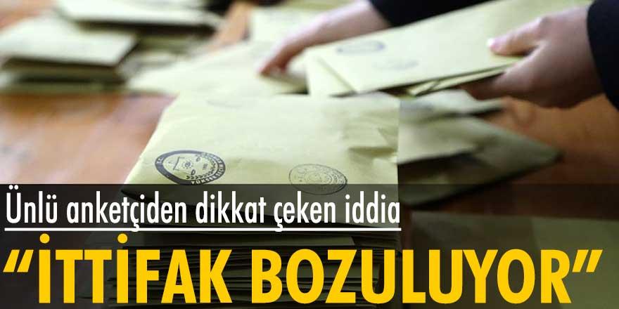 """Özer Sencar'dan dikkat çeken iddia: """"İttifak bozuluyor"""""""