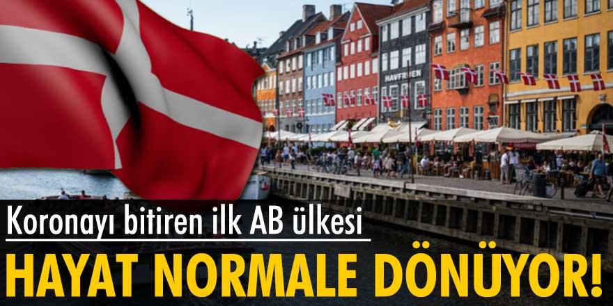 Danimarka tüm koronavirüs önlemlerini kaldırıyor! Hayat normale dönüyor