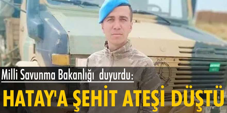 MSB duyurdu: Turgay Abacı şehit düştü