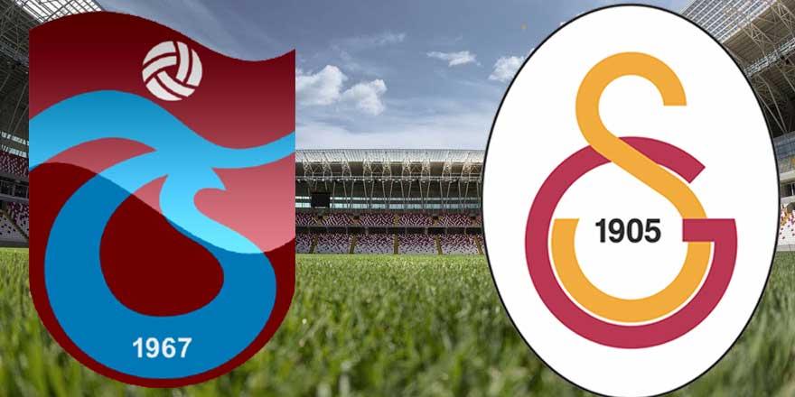 Trabzonspor-Galatasaray maçı ne zaman, saat kaçta hangi kanalda?