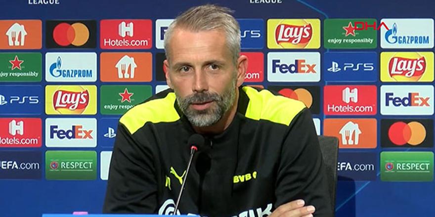 Dortmund Teknik Direktörü Rose: Hazırlıklıyız, açık oynayacağız