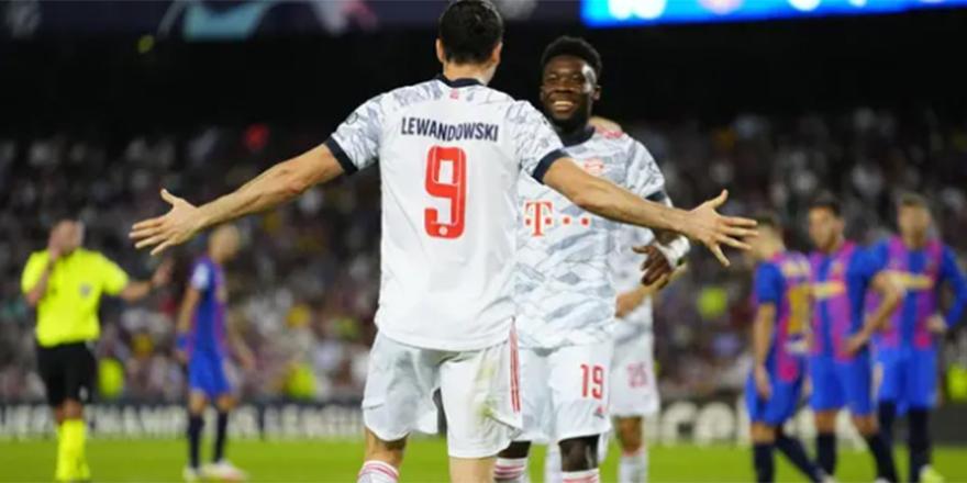Bayern Münih, Barcelona'yı 3 golle geçti