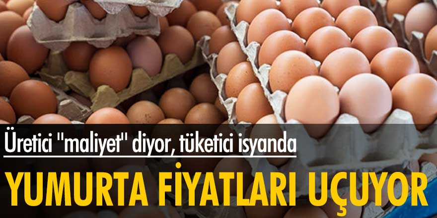 """Yumurta fiyatlarında büyük artış! Üretici """"maliyet"""" diyor, tüketici isyanda"""