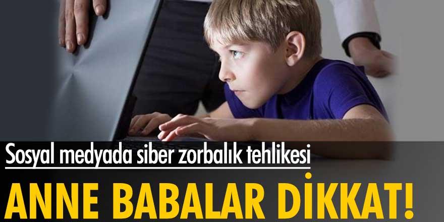 Uzmanlar uyardı! Sosyal medyada siber zorbalık tehlikesi