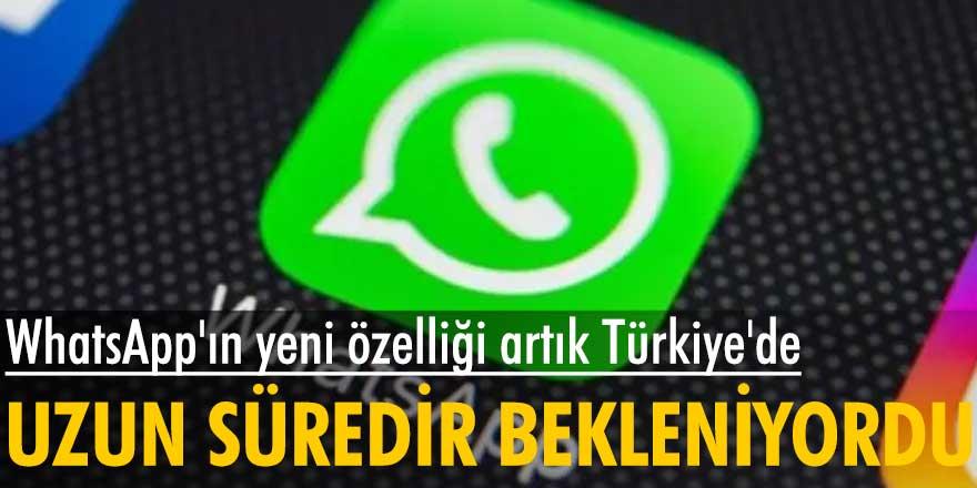 WhatsApp çoklu cihaz desteği özelliğini Türkiye'de de kullanıcıların hizmetine sundu