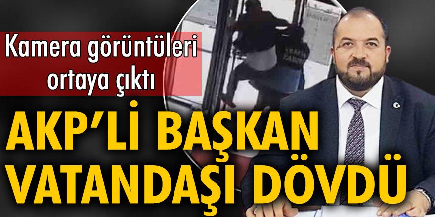 AKP'li başkan Fatih Ünsal, belediye binasında vatandaşı tekme tokat dövdü