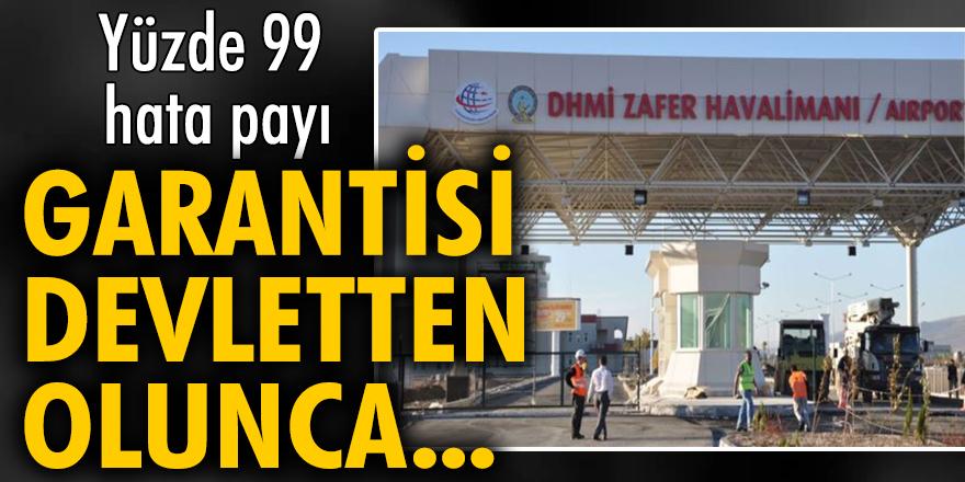 Zafer Havalimanı'nın zararı 4 milyon 650 bin Euro oldu