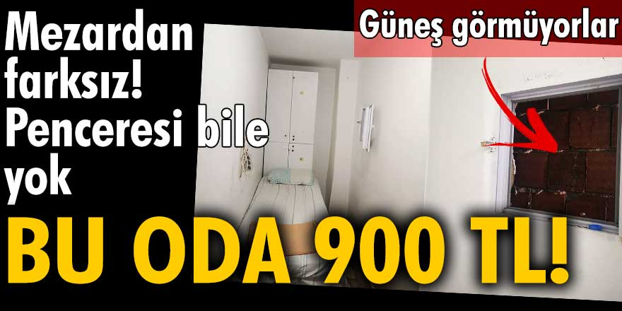İstanbul'da öğrencilere 900 TL'ye kiralanan 'havalandırmalı' oda