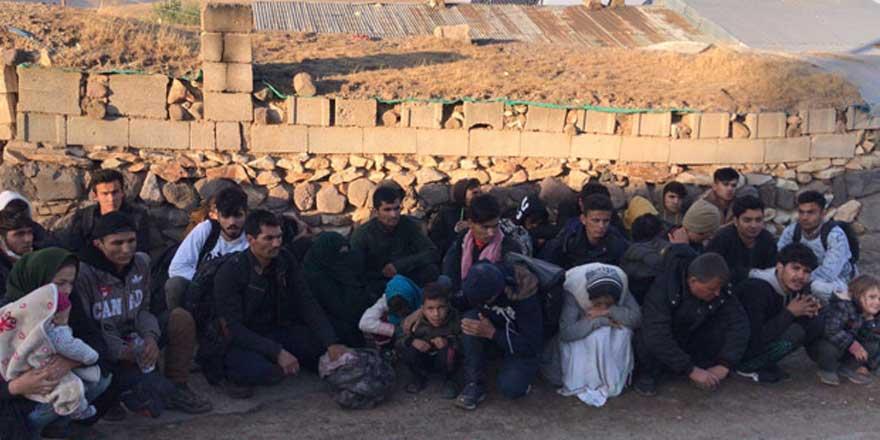 Van'da 40 kaçak göçmen yakalandı!