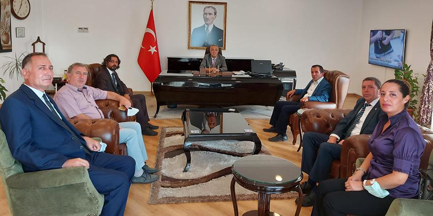 İYİ Parti Çiğli İlçe Başkanı Özgür Doğan'dan önemli ziyaret