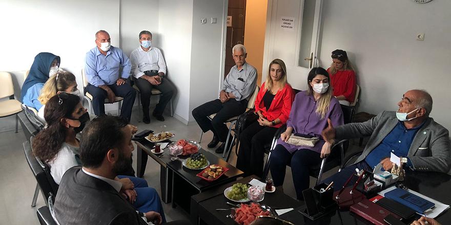 İYİ Parti Malatya İl Başkanı Sarıbaş sorunları dinledi