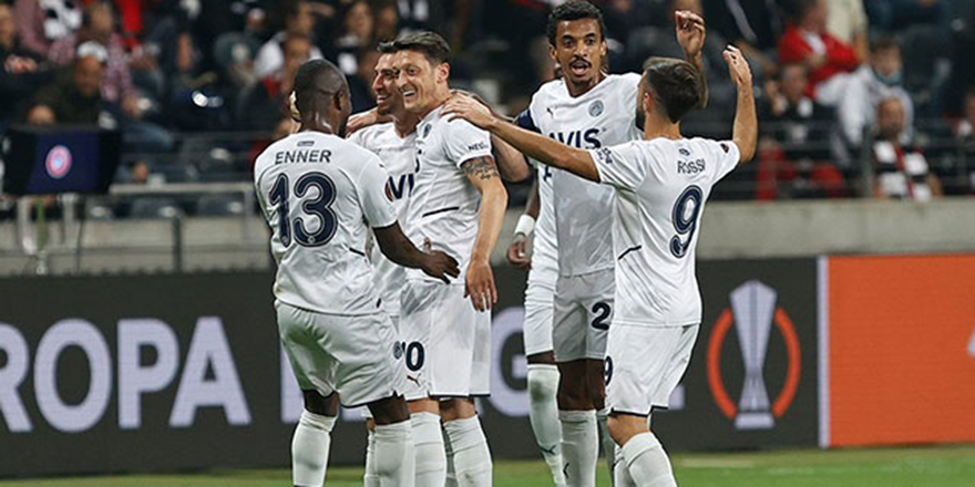 Eintracht Frankfurt - Fenerbahçe: 1-1