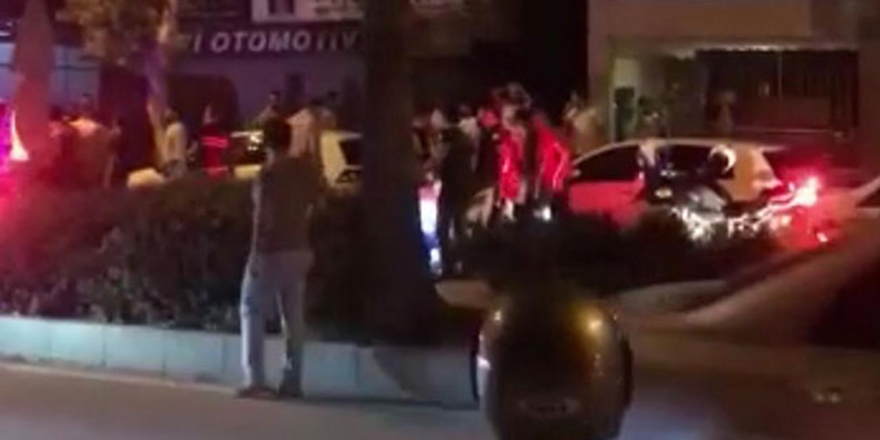 'Dur' ihtarına uymayan otomobildekiler ateş açtı