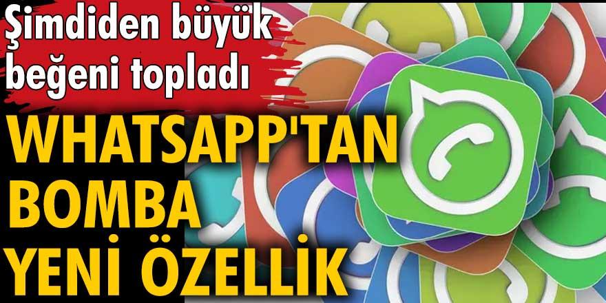 WhatsApp'tan bomba yeni sticker özelliği