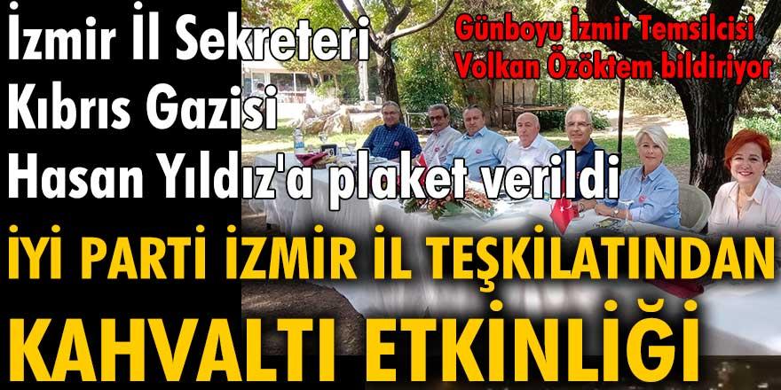 İYİ Parti İzmir İl Teşkilatı'ndan kahvaltı etkinliği