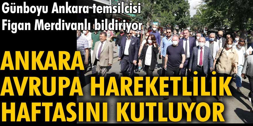 Ankara Avrupa Hareketlilik Haftasını kutluyor