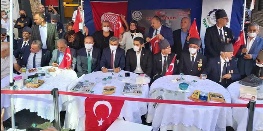 Ümraniye İYİ Parti İlçe teşkilatı Gaziler Günü etkinliğine katıldı