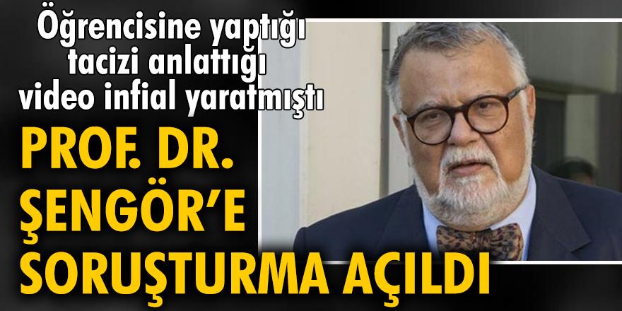 Öğrencisini taciz ettiğini itiraf eden Prof. Dr. Celal Şengör'e soruşturma açıldı
