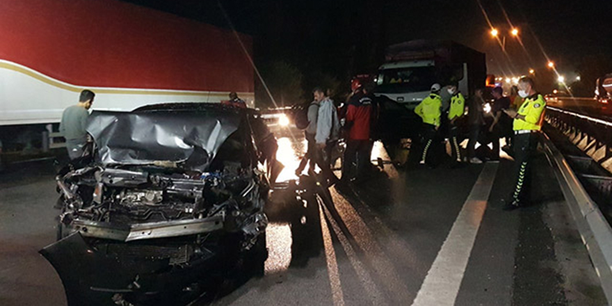 Sapanca'da zincirleme kaza